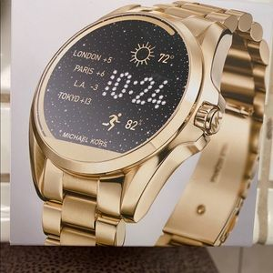 Michael kors acces smart watch gold